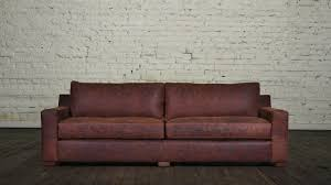 Leather Sofas Charlotte Nc by Cococohome Durham Leather Sofa Made In Usa
