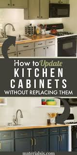 how to update kitchen cabinets without replacing them how to update kitchen cabinets without replacing them in