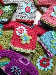 51 best mini sweater ornaments images on crochet