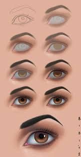 tutorial photo n2 eye by elybibi digital painting