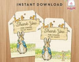 peter rabbit tags etsy