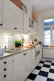 black and white kitchen backsplash kitchen cool small kitchen decoration rectangular white tile