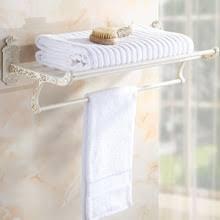 White Bathroom Shelf With Hooks by Popular Bathroom Shelves White Buy Cheap Bathroom Shelves White