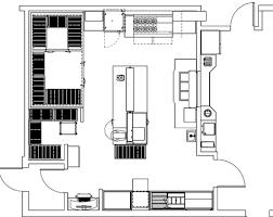 plan cuisine professionnelle normes cuisine conception à la carte hrimag hotels restaurants et