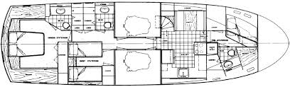 Catamaran Floor Plans by Powerboat Guide Boat Reviews Specifications Reference Tool