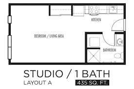 one bedroom apartment plan one bedroom apartment open floor plans on cute large 1 apartments