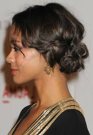 curly hairstyles for black women with medium hair black short