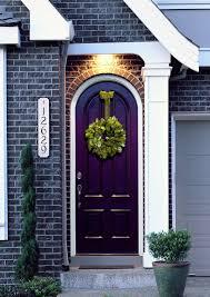 exterior design inspiring orange home 2017 with dark grey trim