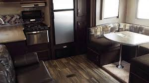 2017 evo t2360 travel trailer slide out and rear kitchen