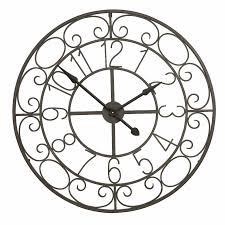 horloge murale vintage pendule vintage style campagne campagne