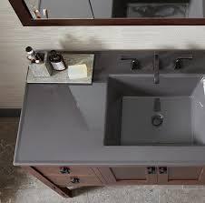 Bathroom Countertop With Sink Bathroom Vanities Collections Kohler