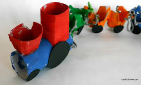 egg carton steam train craft craftulate
