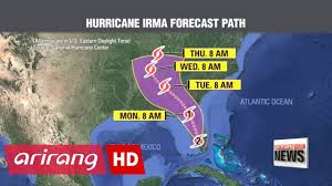 Southern Florida Map by Hurricane Irma Storm Makes Landfall In Southern Florida With Life