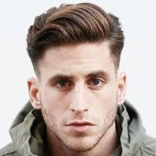 hard part hair men hard part pompadour menhairstylist com