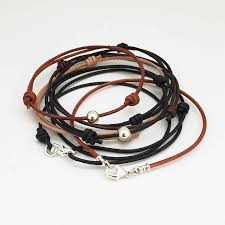 bracelet leather cord images Leather cord bracelets thin leather bracelet mens bracelet jpg