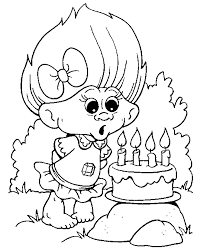 troll coloring pages getcoloringpages