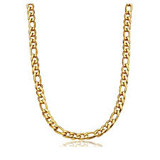 girl with gold necklace images New design 925 silver side gold plated necklace chain for men jpg