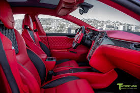 bentley red 2016 red multi coat custom tesla model s 2 0 bentley red interior