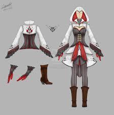 female assassins costume ac by thira evenstar deviantart com on