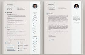 cv design gratuit a telecharger 18 modèles de cv créatifs gratuits blog du modérateur