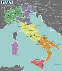 Political Map Of Italy by Italy Regions Map U2022 Mapsof Net