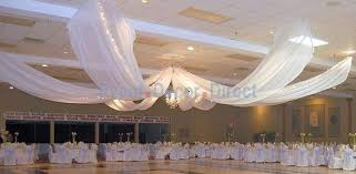 ceiling draping diy wedding crafts ceiling draping kits