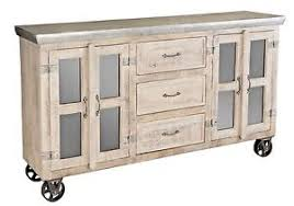 antique white kitchen island industrial antique white sideboard buffet console wheels