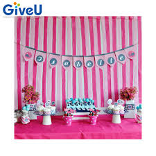 streamer backdrop giveu girl theme pink white crepe paper streamer 8roll 200m