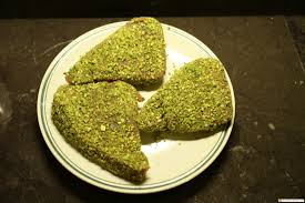 tuna fish with pistachio crust your contact in florence