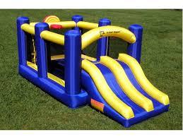 island hopper racing slide and slam bounce house u0026 reviews wayfair