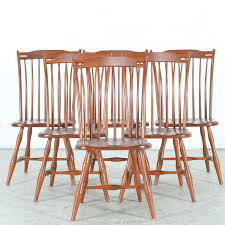 Dining Chair Cherry Tom Seely Furniture Cherry Dining Chairs Ebth