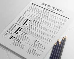 Modern Professional Resume Template Modern Resume Template Cover Letter Template For Word