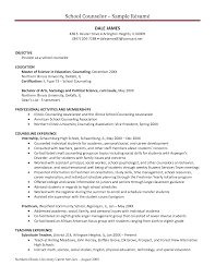 Academic Resume For College Applications College Admissions Counselor Job Description Resignation Letter On