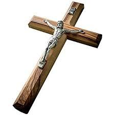 wood crucifix small black wood crucifix 4 home kitchen