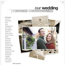 our wedding website why you need a wedding website popsugar tech