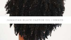 How To Use Jamaican Black Castor Oil For Hair Growth 6 Ways To Use Jamaican Black Castor Oil Youtube