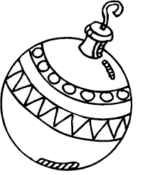ornament coloring page best toys collection