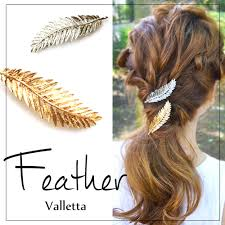 barrette hair nail town rakuten global market feather and feather barrette