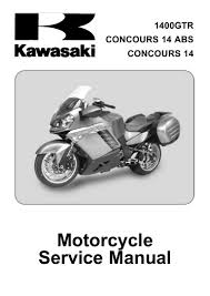 service manual kawasaki 1400 gtr 1