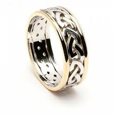 celtic knot ring celtic knot ring with trim celtic rings ltd