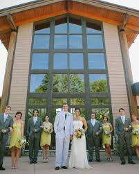 Omaha Outdoor Wedding Venues by A Crafty Rustic Outdoor Wedding In Bellevue Nebraska Martha