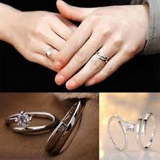 promise ring engagement ring and wedding ring set lover promise rings jewelry engagement ring wedding ring