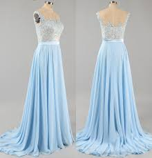 light blue dress light blue prom dress with floral lace applique cap sleeve
