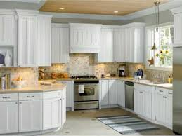 Ivory Colored Kitchen Cabinets Kitchen Cabinets Interior White Wooden Kitchen Cabinet With