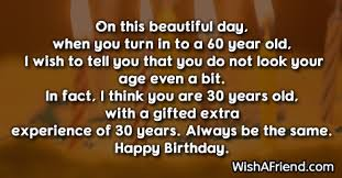 60th birthday sayings on this beautiful day when you 60th birthday sayings
