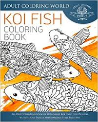amazon koi fish coloring book coloring book 40