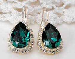 green earrings best swarovski green earrings photos 2017 blue maize