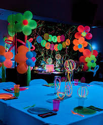 glow in the party kara s party ideas neon glow birthday party kara s party ideas