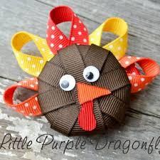 best 25 thanksgiving hair bows ideas on toddler hair