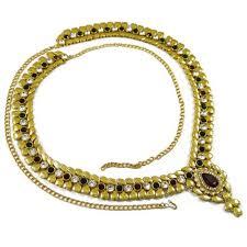 indian kamar bandh jewelry waist chain saree belt